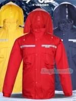 เสื้อกันฝน High grade แถบสะท้อนแสง 3M ***สินค้ามีตำหนิ***