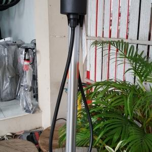 โปรโมชั่นลด สูบลมตั้งพื้น ยี่ห้อ Team สีเทา แบบมีเกจจ์วัด Max 160 psi หัวสูบแบบ Auto ใช้หัวเดียวหัวสำหรับจุ๊ฟเล็กและจุ๊ฟใหญ่