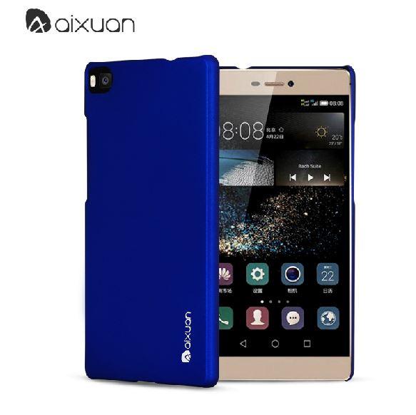 พร้อมส่ง!!สีแดง+น้ำเงิน**เคส Huawei/P8-Aixuan