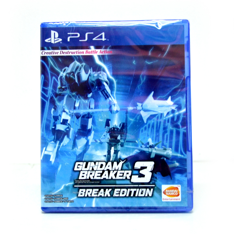 PS4™ Gundam Breaker 3 Break Edition Zone 3 Asia / Voice JP, Subtitle EN ราคา 1890.- ส่งฟรี