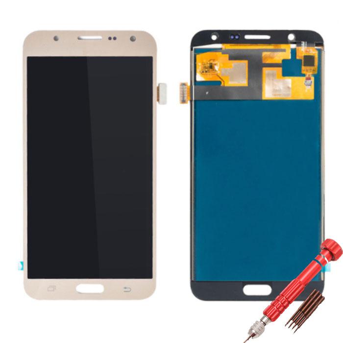ราคาหน้าจอชุดเทียบงานแท้ Samsung J7 PRIME แถมฟรีไขควง ชุดแกะเครื่อง+กาวติดหน้าจอ