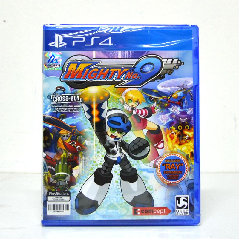 PS4™ Mighty No.9 Zone 2 eu // zone 3 Asia / English