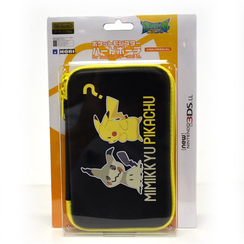 กระเป๋าใส่เครื่อง New3DSXL ลายปิกาจู&มิมิคิว ยี่ห้อ Hori™ 3DS-502 ของแท้ จากญี่ปุ่น