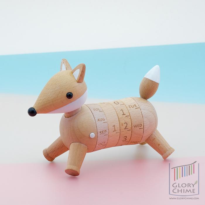 ของขวัญ Wooden Gift - ปฏิทินสุนัขจิ้งจอก