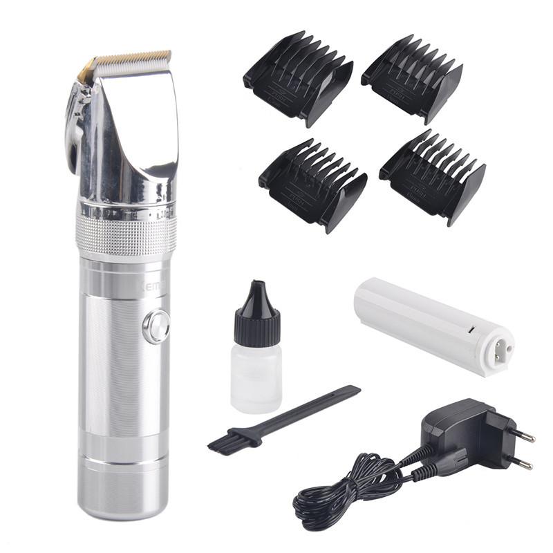 [KEMEI] แบตเตอร์เลี่ยนใบมีดเซรามิค ปัตตาเลี่ยนไร้สาย แบตเตอเลี่ยนตัดผมเด็ก แบตตาเลี่ยนตัดผมชาย อุปกรณ์ตัดผมชาย Ceramic Titanium Blade Professional Hair Clipper For Men & Women