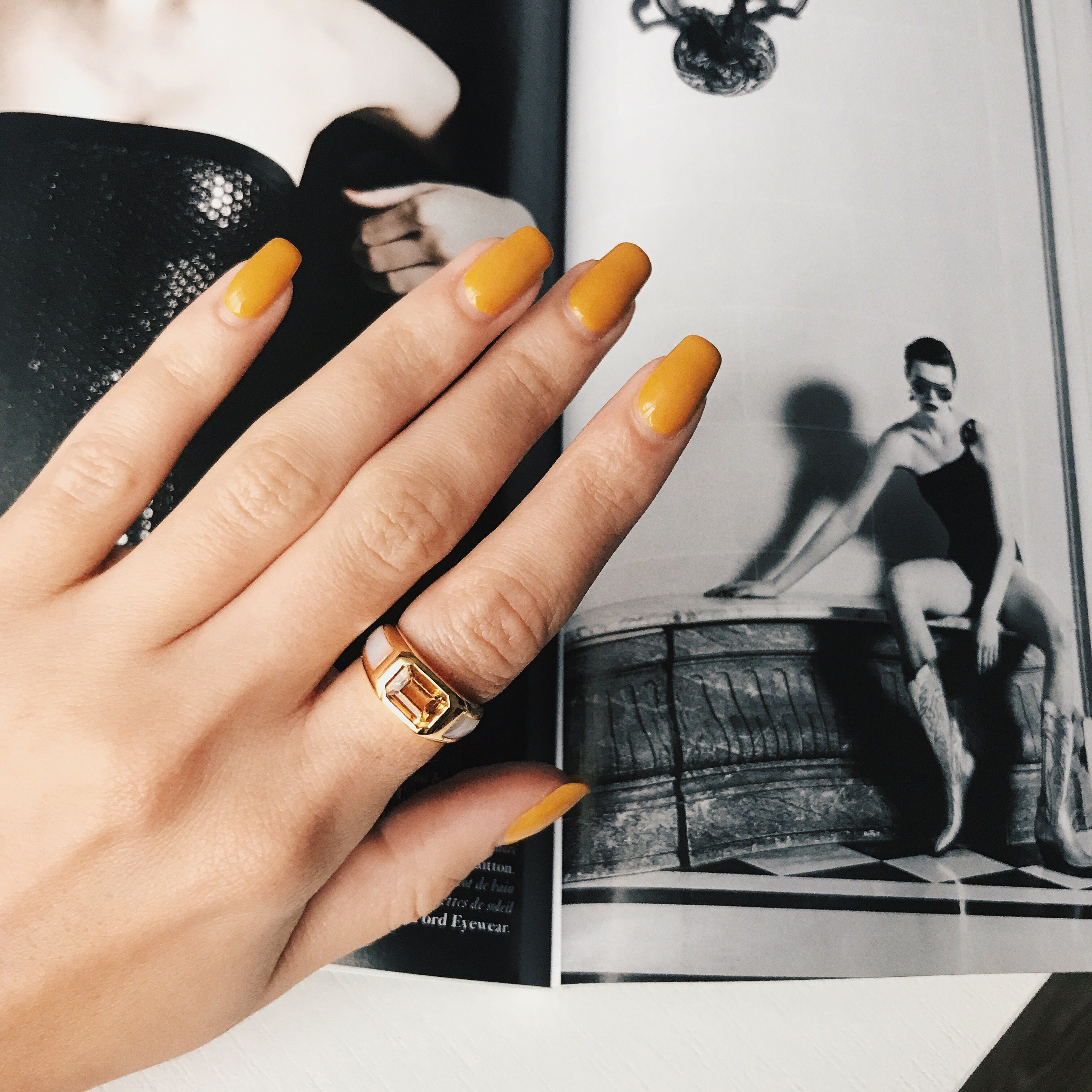 Nika Huk (@fashionagony) with Elite & Luck Rings