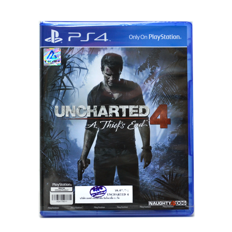 PS4™ Uncharted 4: A Thief's End Zone1 us , Zone 3 Asia / English (เกมใหม่ ขายดีมาก**)