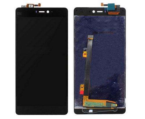 ราคาหน้าจอชุด+ทัสกรีน Xiaomi Mi4i อะไหล่เปลี่ยนหน้าจอแตก ซ่อมจอเสีย สีดำ