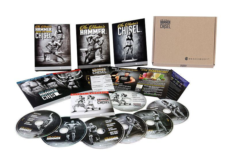 the master's hammer and chisel workout 6 DVD boxset