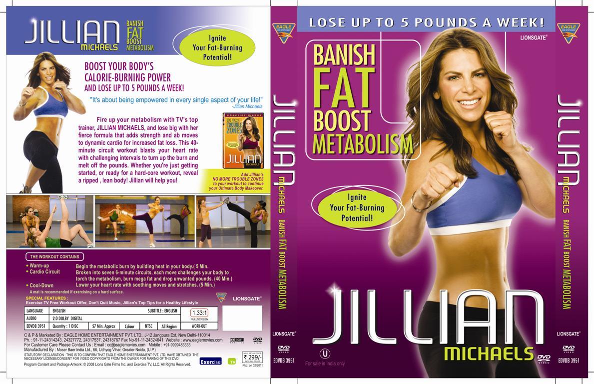 Jillian Michaels Banish Fat Boost Metabolism Workout