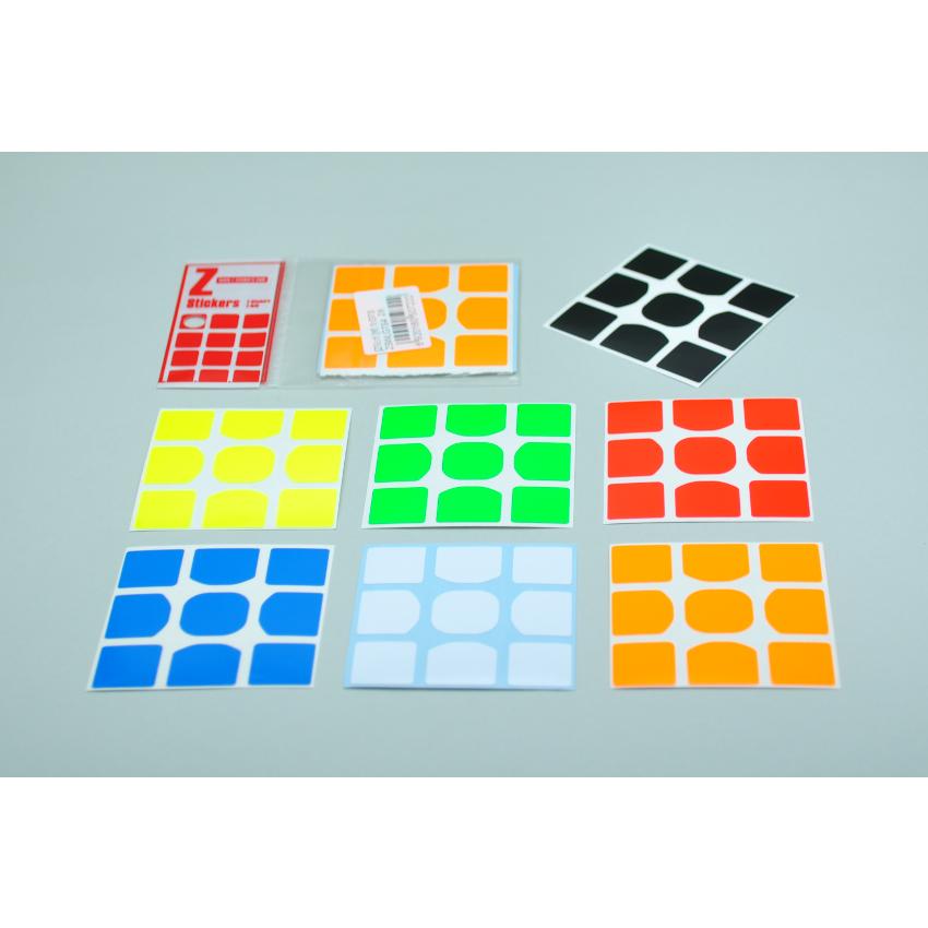 Z-Stickers Z-Bright for MoYu WeiLong GTS [ZSWLGTS4]