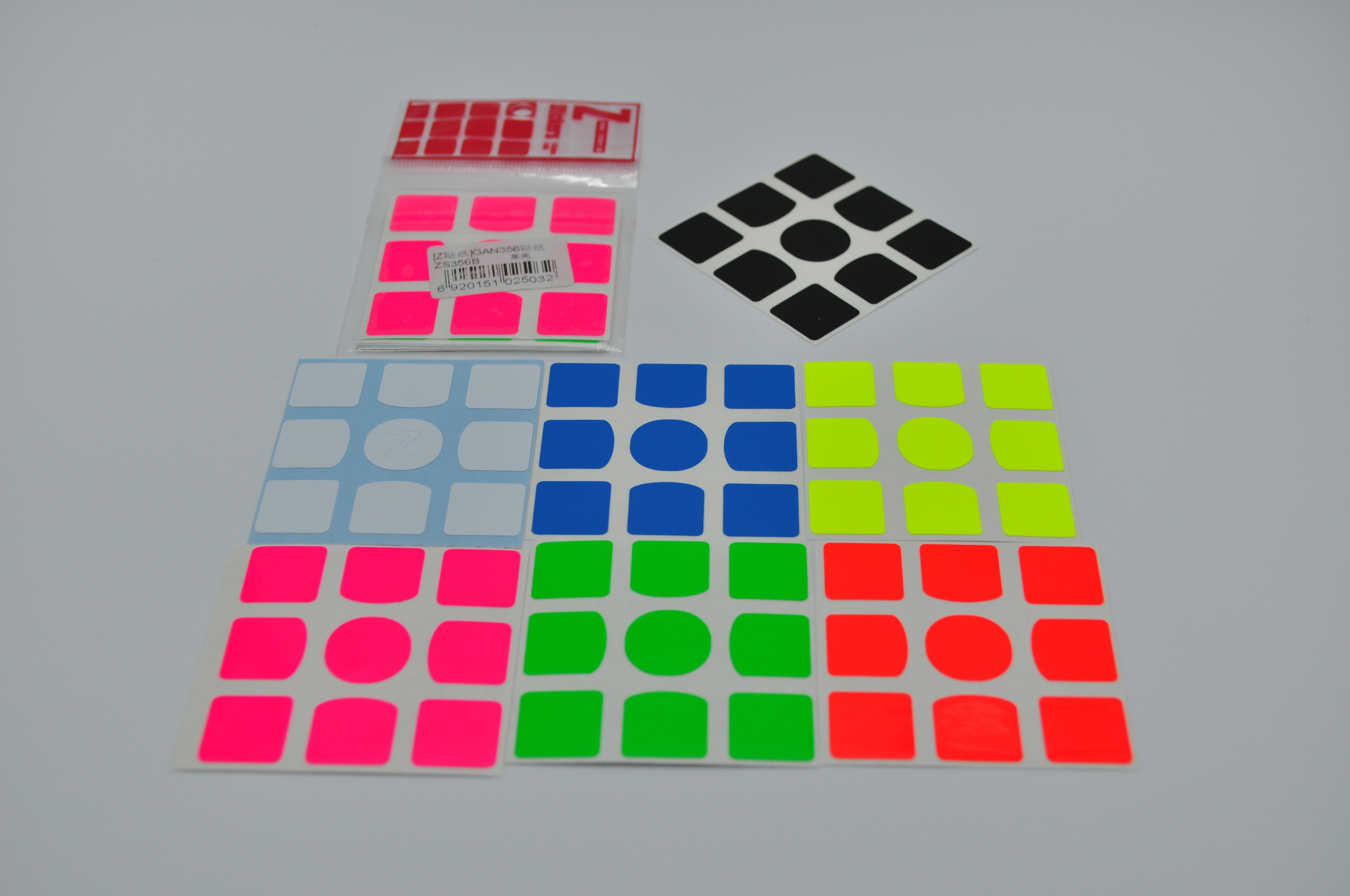 Z-Stickers for GAN 356 Full-Bright [ZS356B]