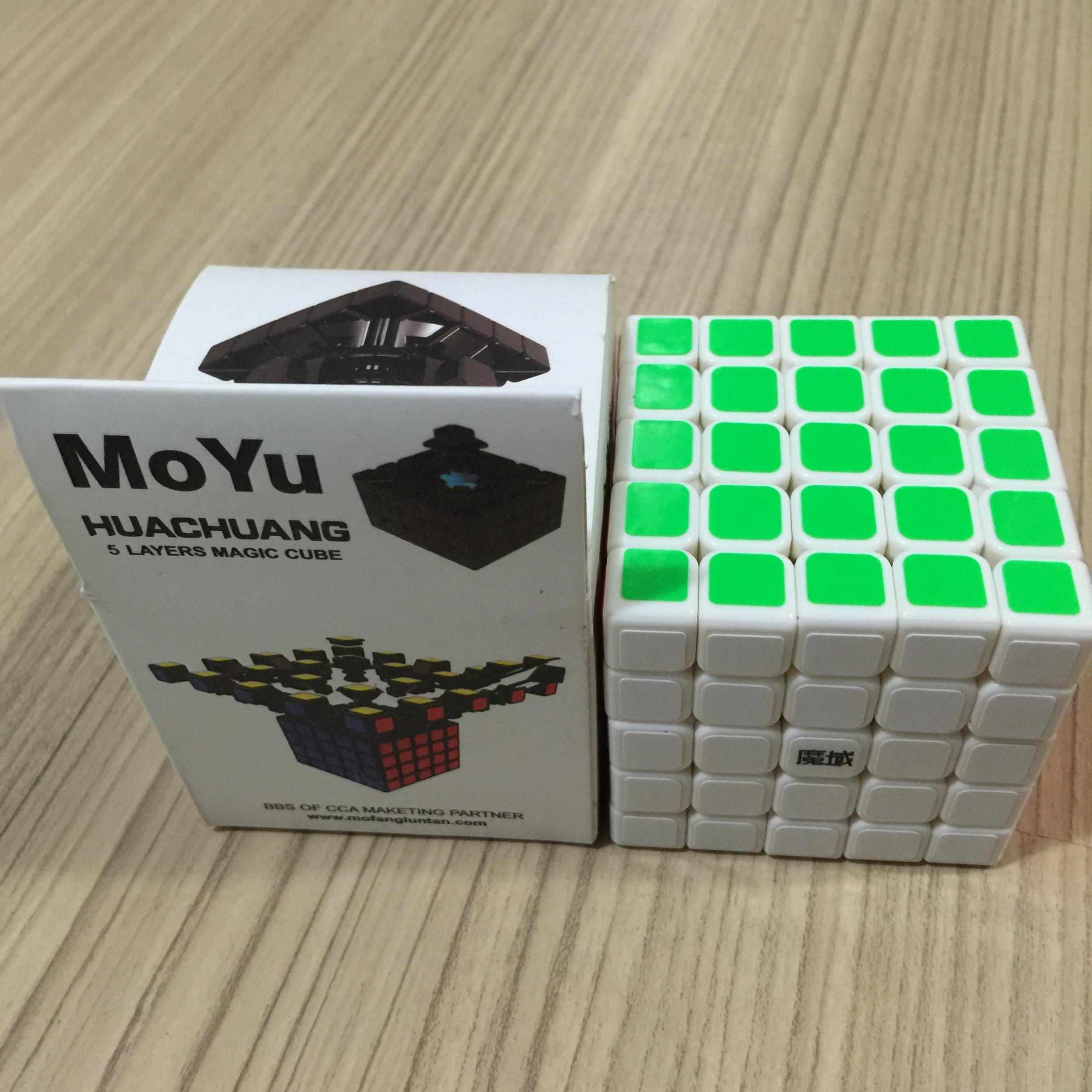 MoYu HuaChuang 5x5x5 63mm White