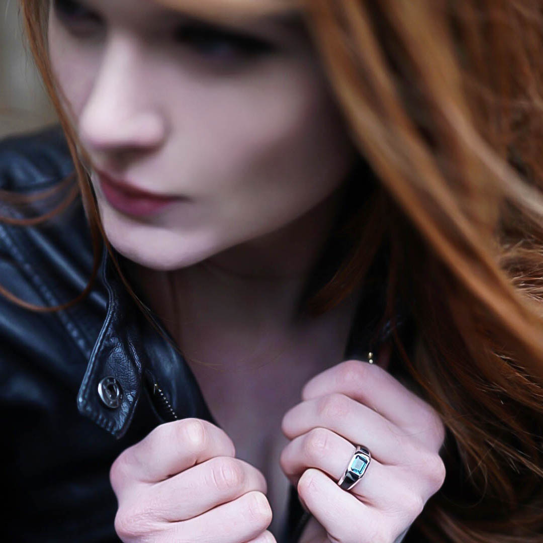 Kelly Mulvihill (@kmulisakitty) with Elite & Luck Rings