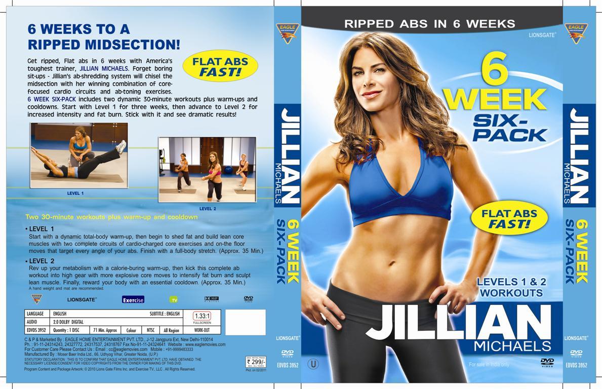 Jillian Michaels 6 Week Six Pack