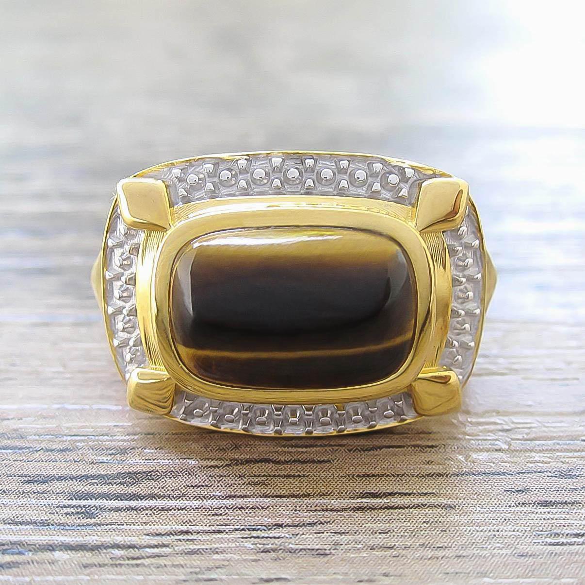 แหวน Tiger's Eye จาก Elite & Luck