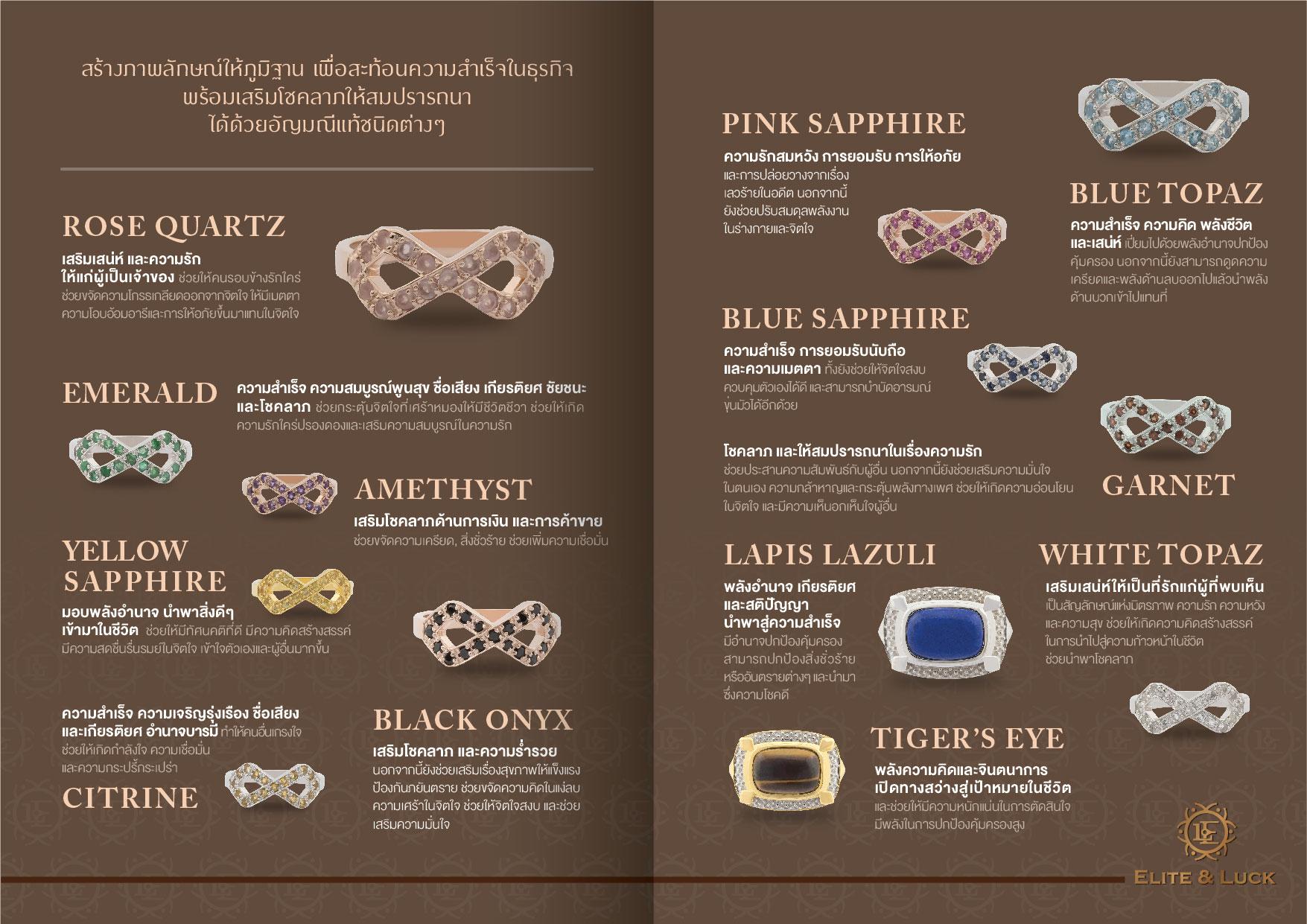 เลือกแหวนเสริมดวงอย่างไรให้เหมาะกับคุณ