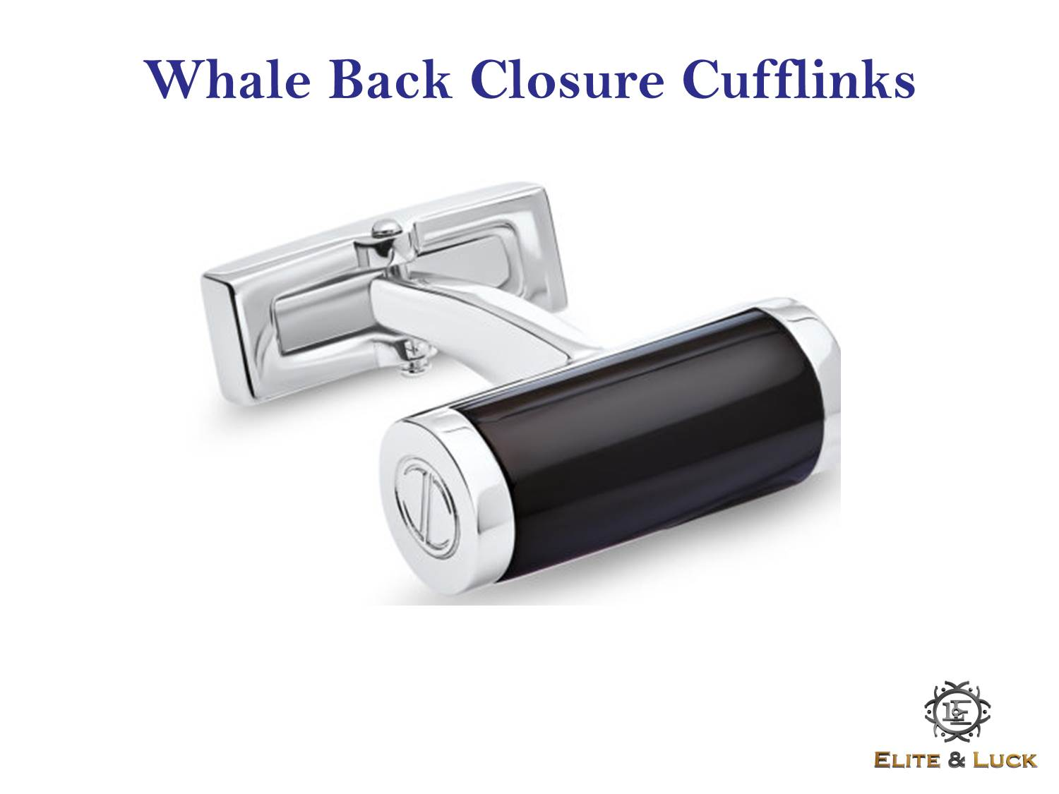 Whale Back Closure Cufflinks