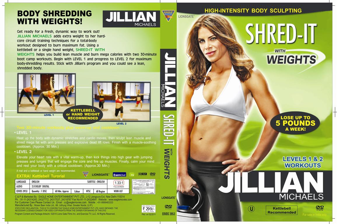 Jillian michaels Shred-It With Weights