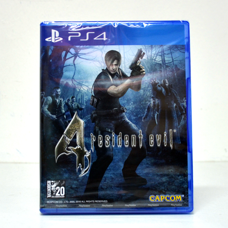 PS4™ Resident Evil 4 (Biohazard 4) Zone 1 us , zone 3 Asia / English