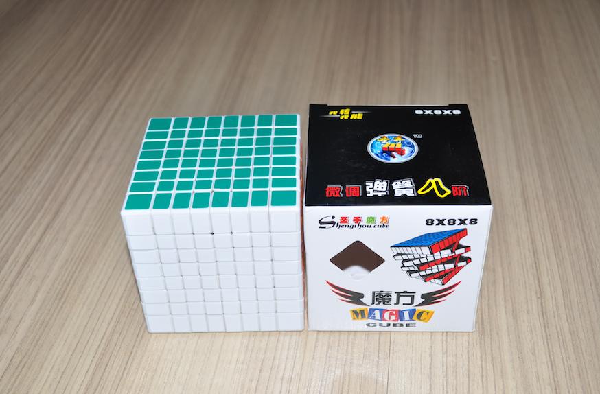 ShengShou 8x8x8 White