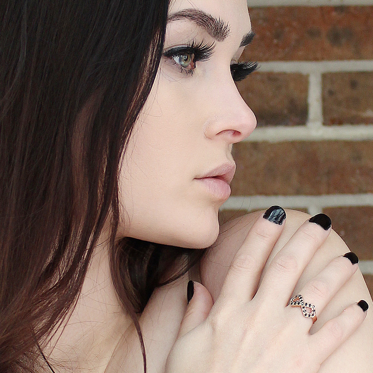 Niece Waidhofer (@niecewaidhofer) with Elite & Luck Rings