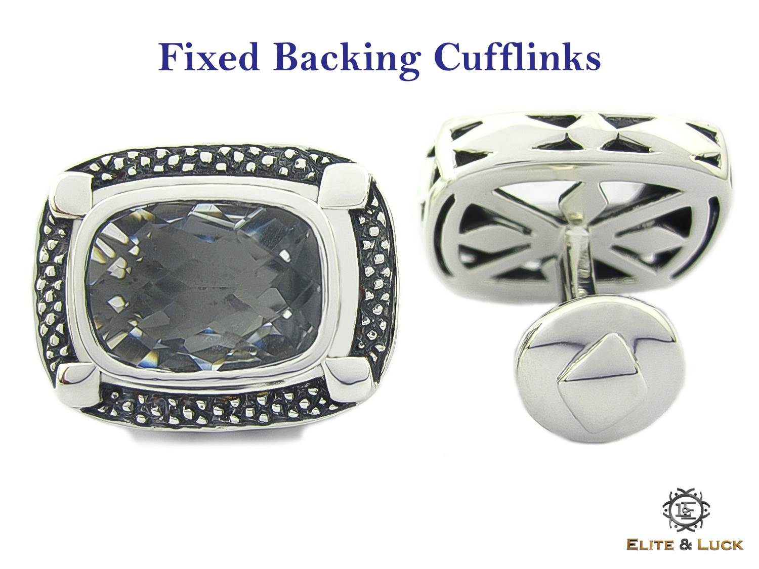 Fixed Backing Cufflinks