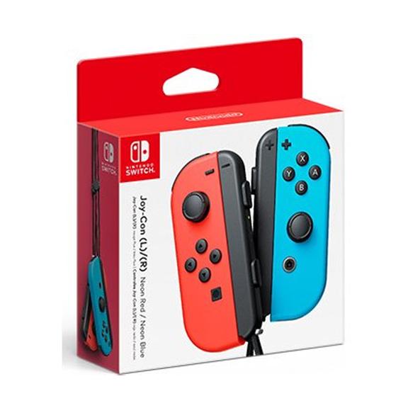 จอยคอน (นีออน) Nintendo Switch™ Joy-Con Controllers (Neon Blue / Neon Red)