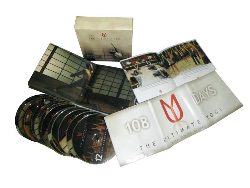 DVD โยคะ The Ultimate Yogi with Travis Eliot 12 DVDs Boxset