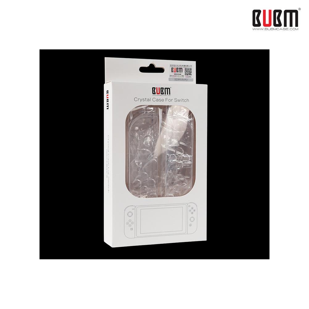 ขายส่ง ++ เคสใสแยกชิ้น ++ BUBM Crystal Case for Switch ราคา 490.-
