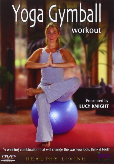 Yoga Gymball Workout with Lucy Knight