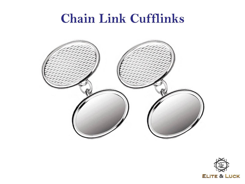 Chain Link Cufflinks