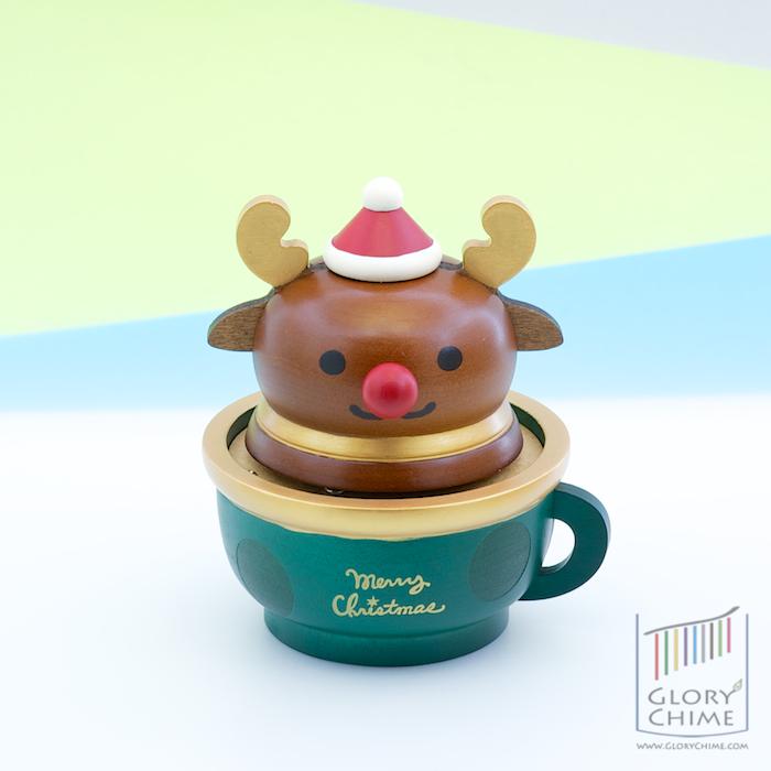 กล่องเพลงกวางเรนเดียร์ ♫ We Wish You A Merry Christmas ♫ กล่องดนตรี Wooderful Life