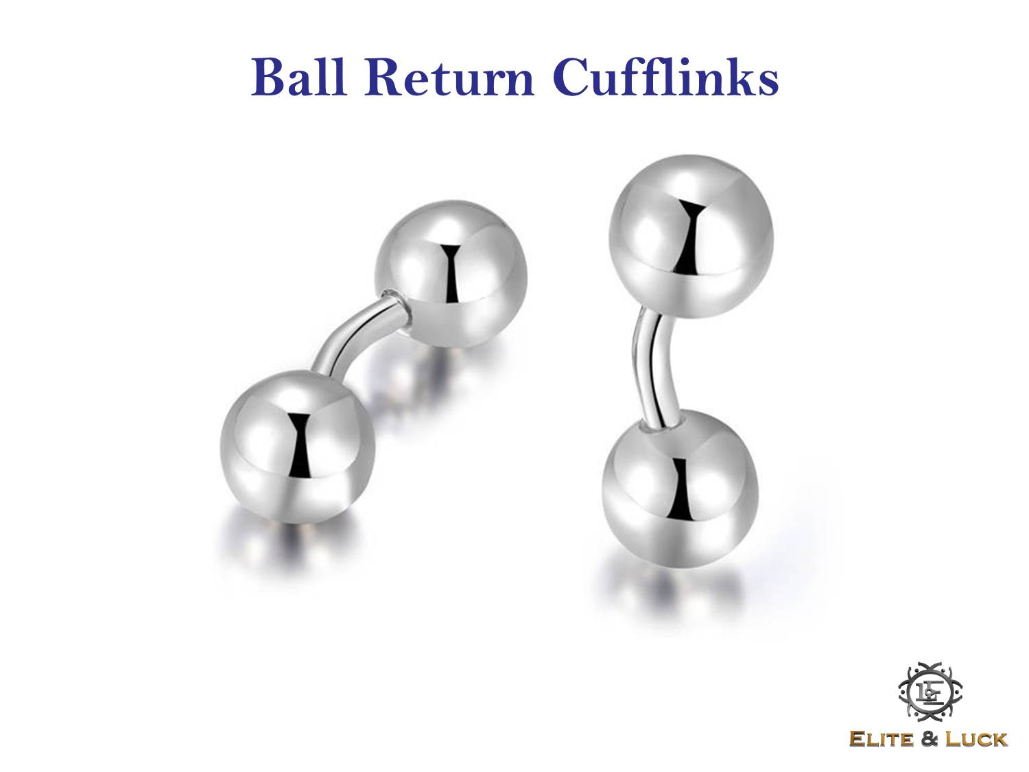 Ball Return Cufflinks
