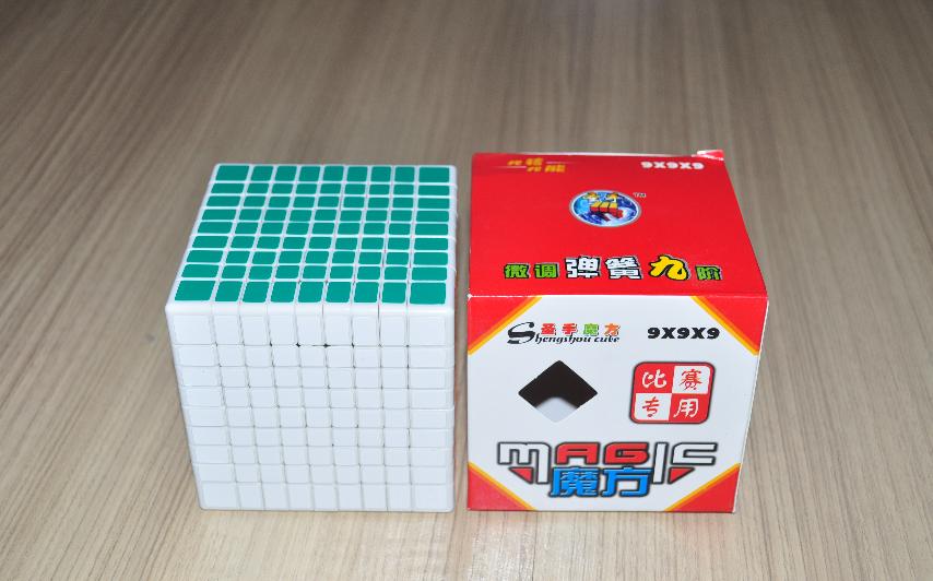 ShengShou 9x9x9 White
