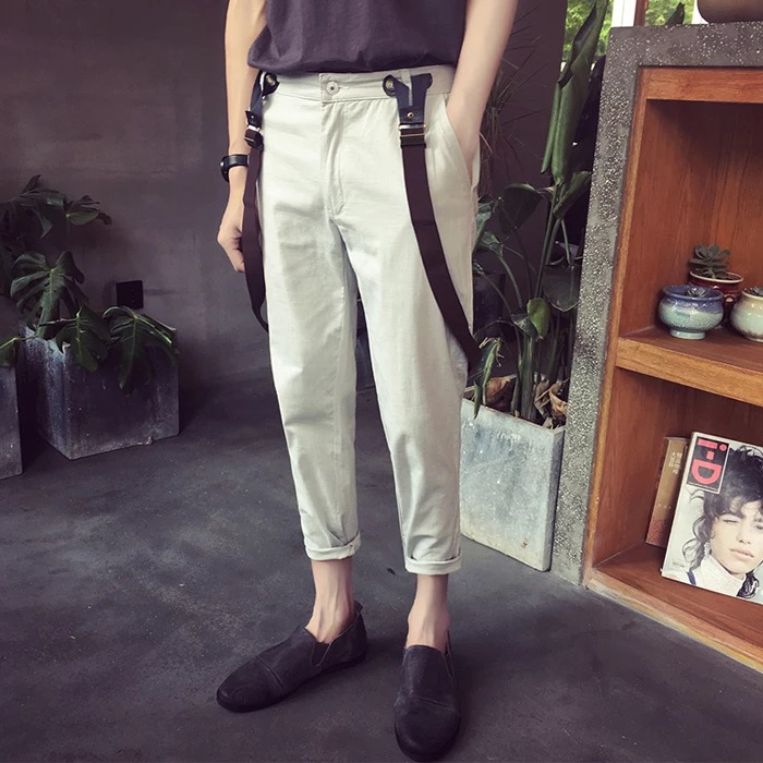กางเกงขายาว+สายเอี๊ยม