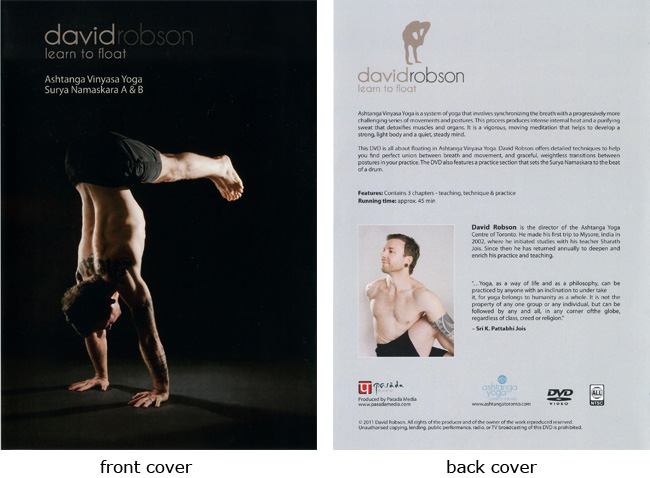 David Robson-Learn to Float-Ashtanga Yoga