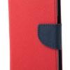 เคส asus zenfone live zb501kl (ASUS_A007) ฝาพับ ฝาปิด mercury fancy diary case สีแดง-กรมท่า