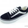 [พร้อมส่ง] รองเท้าผ้าใบแฟชั่น รุ่น E-8 สีดำขาว
