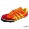 [พร้อมส่ง] รองเท้าผ้าใบเด็กแฟชั่น รุ่น F70 สีส้ม