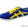 [พร้อมส่ง] รองเท้าผ้าใบแฟชั่น รุ่น Osaga สีน้ำเงิน