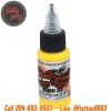 [WORLD FAMOUS] หมึกสักเวิล์ดเฟมัส หมึกสักลายเวิล์ดเฟมัส สีสักลายสีเหลือง ขนาด 1 ออนซ์ สีสักนำเข้าจากประเทศอเมริกา World Famous Tattoo Ink - Great Wall Yellow (1OZ/30ML)