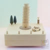 กล่องเพลง Leaning Tower Of Pisa ♫ The Magic Flute ♫ กล่องดนตรี Wooderful Life