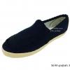 [พร้อมส่ง] รองเท้าผ้าใบแฟชั่น รุ่น M-95 ลูกฟูก สีดำ แบบสวม