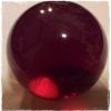 ลูกแก้ว มงคล (สีแดง)