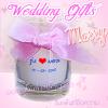 (คลิกที่นี่) เทียนหอมในแก้ว ของชำร่วยงานแต่งงาน งานมงคลเจ้าบ่าวเจ้าสาว ระบุข้อความชื่อคู่บ่าวสาวได้