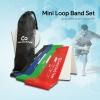 ยางยืดออกกำลังกายแบบห่วงขนาดเล็ก Mini Loop Band Set