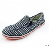 [พร้อมส่ง] รองเท้าผ้าใบแฟชั่น รุ่น 156 สีดำ แบบสวม