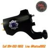 [BISHOP] เครื่องสักโรตารี่บิชอปชนิดเชื่อมต่อสายเกี่ยว เครื่องสักมอเตอร์ เครื่องสักลายแทททู (Black Bishop Rotary Tattoo Gun Machine)
