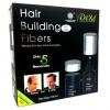 ไฟเบอร์ผมดก Dexe Hair Building Fibers ช่วยสร้างผมให้คุณดูหนาขึ้นเป็นธรรมชาติมากขึ้นด้วยสีที่เหมาะกับผมคุณ แม้ต้องเจอกับเหงื่อขณะเล่นกีฬา หรือเวลาลมพัดแรง หรือแม้แต่เวลาที่ฝนตก ผมคุณก็จะยังคงดูเป็นธรรมชาติดังเดิม และจะยังคงรูปทรงเป็นธรรมชาติตลอดทั้งวัน